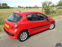 58 REG PEUGEOT 207 1.4 HDI diesel £30 for 12 months tax 132K NEW CLUTCH hpi clear, mot Aug 2017