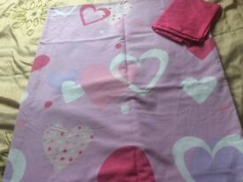 Single duvet cover and pillow case
