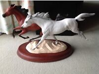 Franklin Mint, Pauline Du Boulay. RACING THE WIND.