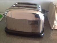 Russell Hobbs chrome toaster