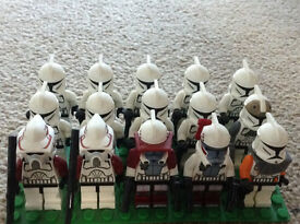 Lego star wars clone minifigure collection