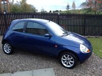 Very good condition low low miles 08 plate Ford Ka....Full year Mot till October 2018