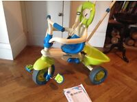 kids 3 in 1 smart trike with instructions and all accessories