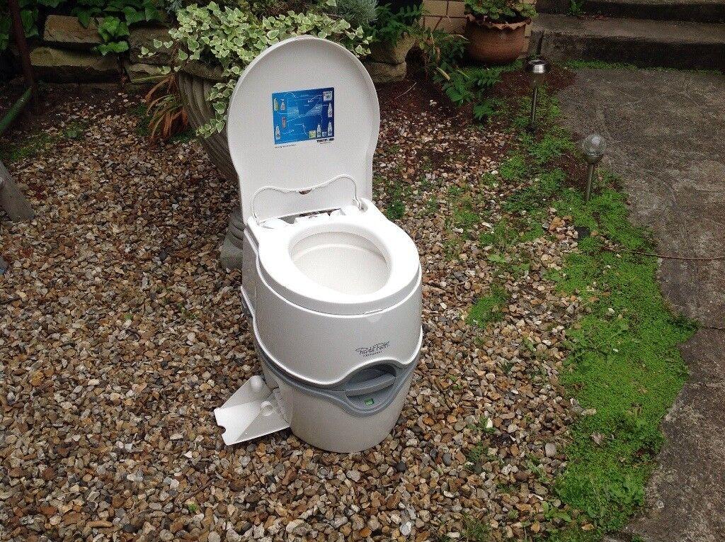 Portable Camping Toilet : Portable camping toilet thretford porta potti excellence