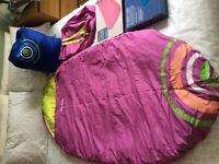 Children's sleeping bags & air beds