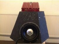 JBL subwoofer and amp £45 ( 07550461227)