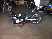 SUZIKI GXSF 600 2001 spare or repair £550 O.N.O