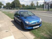 Peugeot 206, 7 months mot, 53 reg, spares or repair. Great condition for age, no dents, needs clutch