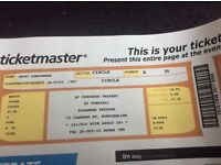 2 concert tickets to see KT Tunstall Friday 28th October