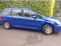 Peugeot 307 Estate 2.0HDI Diesel **** Sold subject to collection****