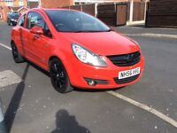 VAUXHALL CORSA 1.2 SXI 3DR Hatchback Patrol Manual 2007 Full hISTROY 10 Mouth mot miles 96000