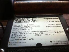 Stuart Turner Showermate U2.6 bar twin shower pump