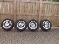"Porsche Cayenne 19"" Alloy Wheels and Tyres"