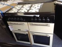 Leisure chefmaster 100cm range cooker with glass lid. £850 RRP £1099 new/graded 12 month Gte