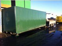 22Ft Demountable Box van/Container