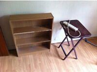 Bookshelves 3' X 3' wooden