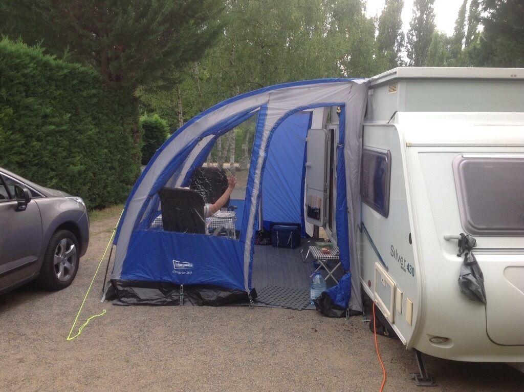 Ontario 260 Caravan Awning Blue In Romford London Gumtree