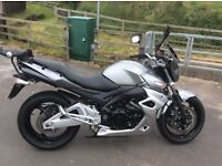 Suzuki GSR 600 three former owners,heated grips, fitted Givi top box and side bags,