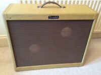 "'Fender' 2x12"" / 1x15"" Custom Pine Guitar Speaker Cab (Cabinet) - Unloaded, Open or Closed Back"