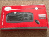 Wireless Computer Keyboard and Mouse Set