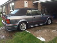 Ford xr3i convertible