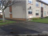Spacious 2 Bedroom Ground Floor Flat, central location Ayr. Recently decdorated throughout