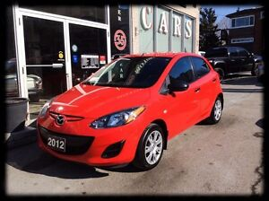2012 Mazda MAZDA2 *AUTO *HEATED SEATS *FULLY EQUIPPED *ACCIDENT