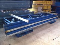 APEX INDUSTRIAL COMMERCIAL WAREHOUSE LONGSPAN PALLET RACKING UNIT BAY