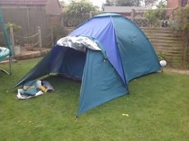 family camping equipment - all in - cheap family holidays