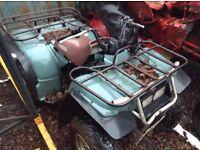 YAMAHA 4X4 QUAD BIKE 350cc for spares.
