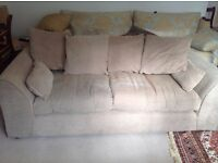 Sofa and chair good condition