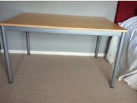 Large Ikea office table with detachable legs (80x160cm)