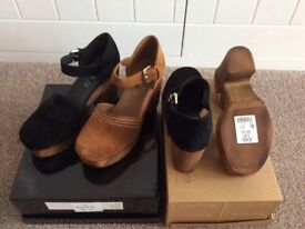 2 PAIR OF LADYS NEXT SHOES SIZE 5 (38) BRAND NEW