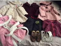 baby toddler outerwear coats jackets shoes Next Debenhams - 8 items