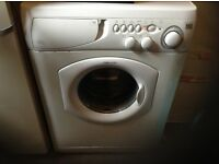 Washing machine ,Ariston, 1600 spin speed,drys clothes faster,£85.00