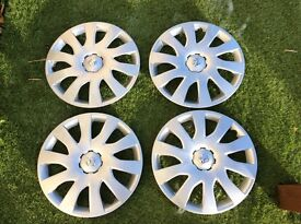 Brand new Vauxhall 16inch wheel trims
