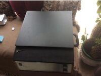 Vintage portadyne record player