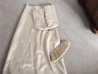 Debenhams bridesmaid bustier and long skirt size 6/8