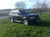 06 Range Rover sport 2.7 tdv6 HSEblack long mot service history £7795