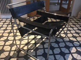 Marcel Breuer Wassily lounge chair retro