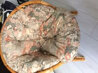 Wraparound cane chair