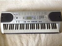 Casio LK-45 Electric Keyboard with Key Lighting System including 100 song bank