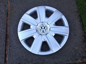 VW polo wheel trims