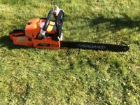 PrimeKraft 52cc petrol 2 stroke chainsaw. 20 inch bar. 1000RPM Complete tool kit and Manuel included