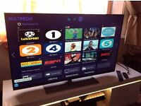 SAMSUNG 48- Inch SMART 3D FULL HD LED TV-UE48H6700,Built-in t,Freeview HD,Excellent condition