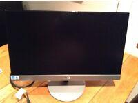 "AOC 23"" monitor like new model no i2369vm . Full had. HDMI vga inputs . Built in speakers ."