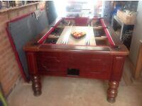 pool table 7x4 slate bed