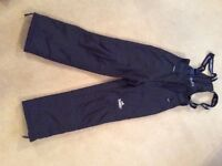 Ski trousers ladies - Kilmarnock, black size 10 / 38