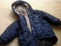 Gap age 2 boys navy coat