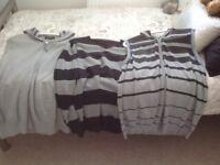 Ladies shorts tea shirts jumper and zippers